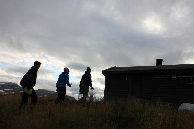 An old hut near Trolltunga