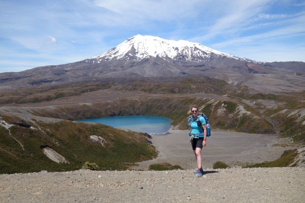 Walking alone in New Zealand's mountains - Tongariro National Park