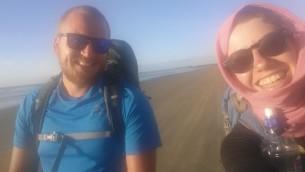 TA trailmates on 90 Mile Beach