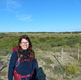 Hiking with Liz on Holland's Coast Path