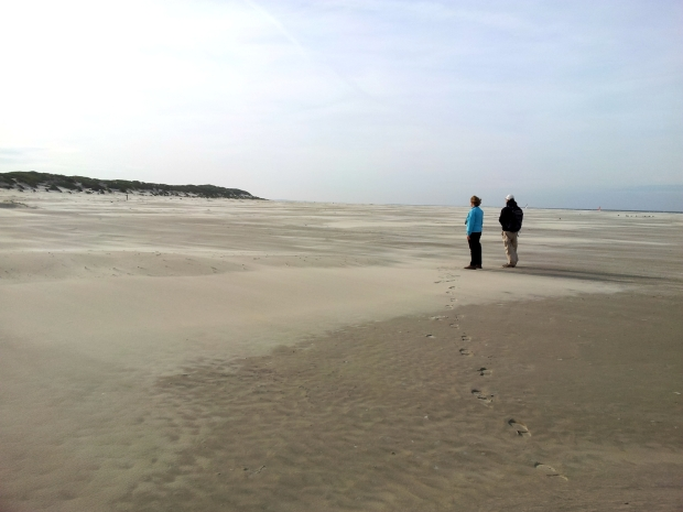 Walking Frisian island Terschelling, the Netherlands